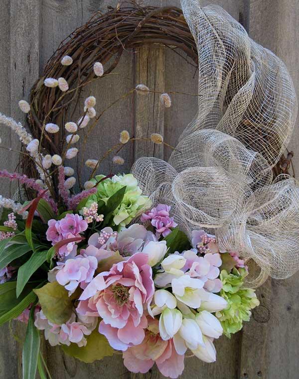 Sensational Easter Wreaths Door Handles Collection Olytizonderlifede