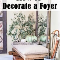 How to Decorate A Foyer: Tips for Function & Fluff