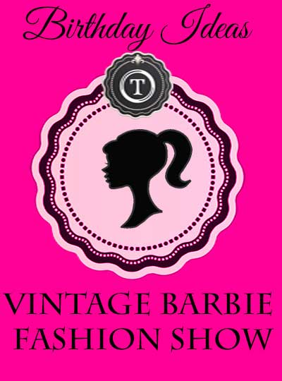 Vintage Barbie Fashion Show - Tidbits&Twine