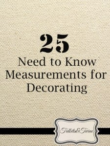 25 Need to Know Measurements