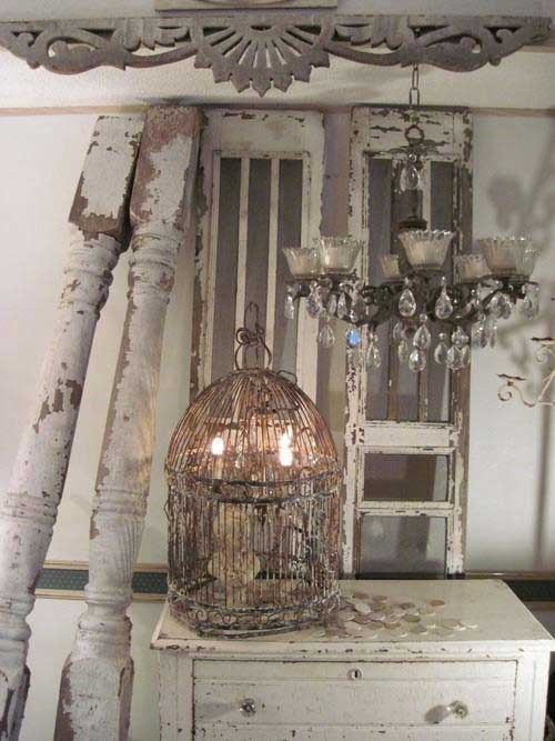 Birdcage Light Decorating with Birdcages   12 Creative Ideas for Everyday Use