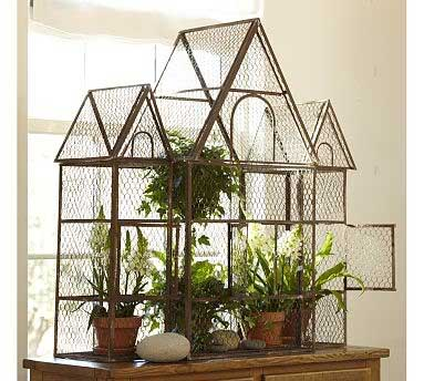 Birdcage with Plant2 Decorating with Birdcages   12 Creative Ideas for Everyday Use