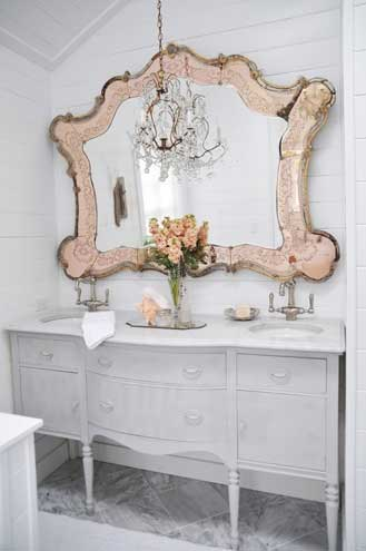 Blush Mirror