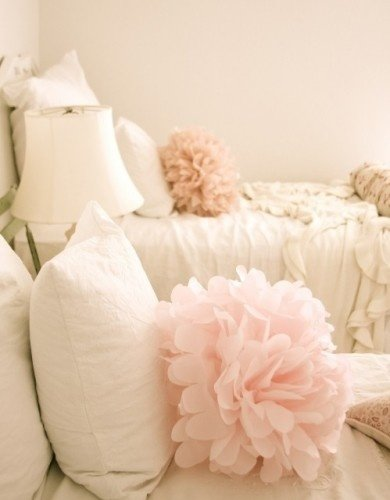 Blush Pillows
