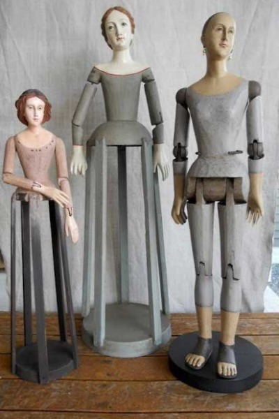 Decorating with Santos Dolls – Cool or Creepy?