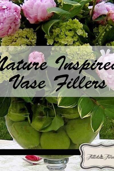 Nature-Inspired Vase Fillers