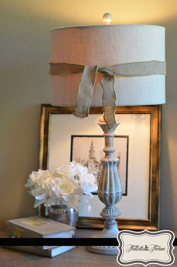 Ribbon Rosette Lampshade 2