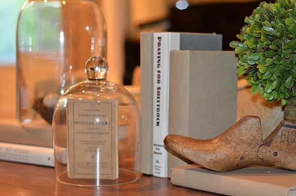 Shoe Form and Vintage Book