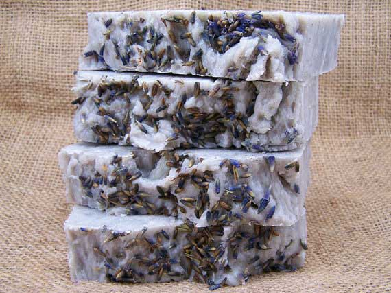 Lavender and Olive Oil Soap from The Jane Soap Company