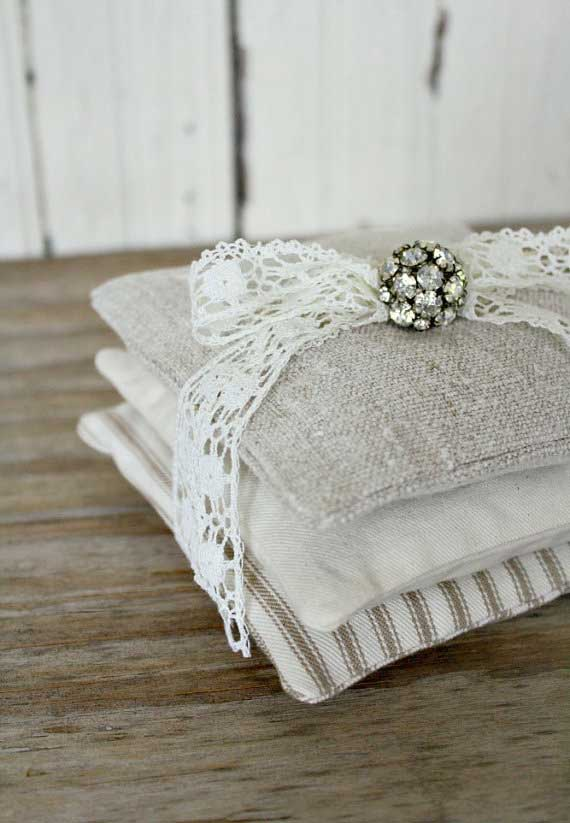 Lavender Sachets from Timewashed