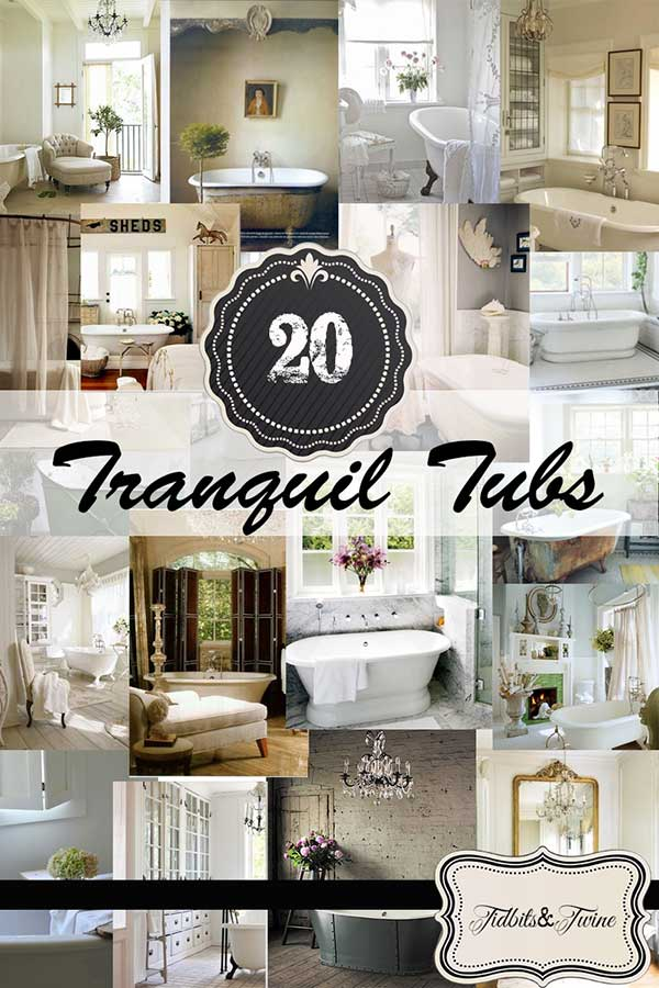 20 Tranquil Tubs that Inspire