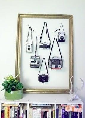 Camera Display in Frame