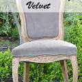 Chalk Painting Velvet - Tidbits&Twine