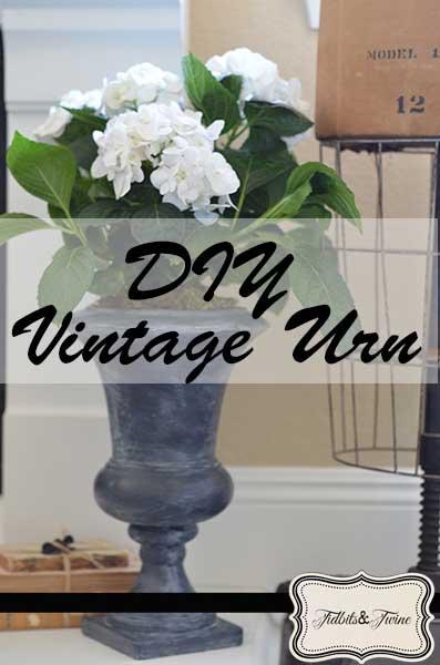 DIY Vintage Urn