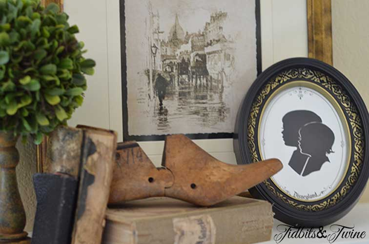 Decorating with Silhouettes - Tidbits&Twine