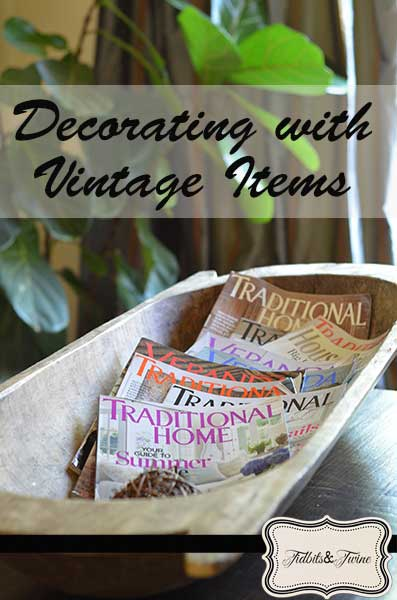Decorating with Vintage Pieces – It's a Different Language!