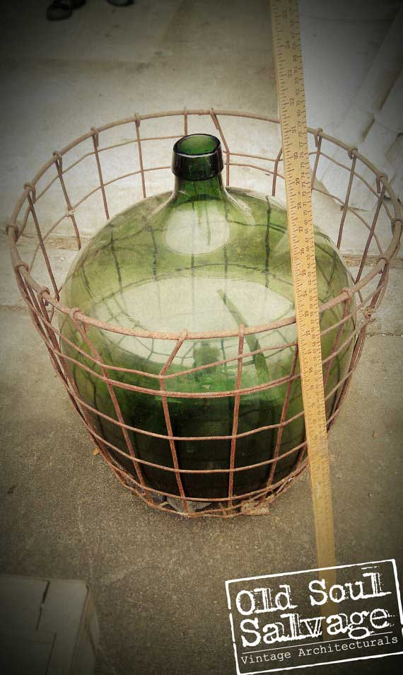Extra Large Demijohn from Old Soul Salvagee