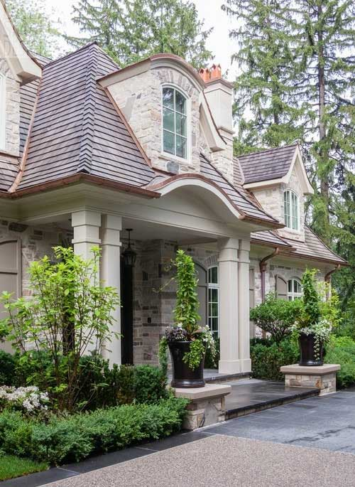 Black Mulch Landscaping Front Yards Curb Appeal