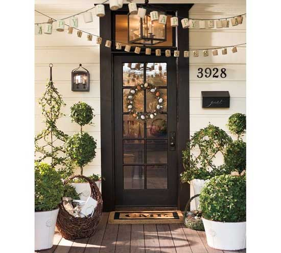Front Door Topiary: 5 Inexpensive Ways To Boost Curb Appeal