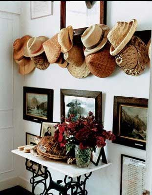 Hat Collection Display