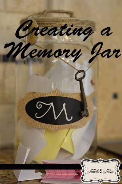 DIY Family Memory Jar