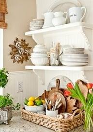 Kitchen Corner Vignette