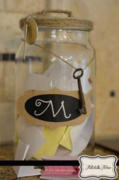 Memory Jar - Tidbits&Twine