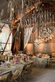 Romantic Rustic Dining Room12