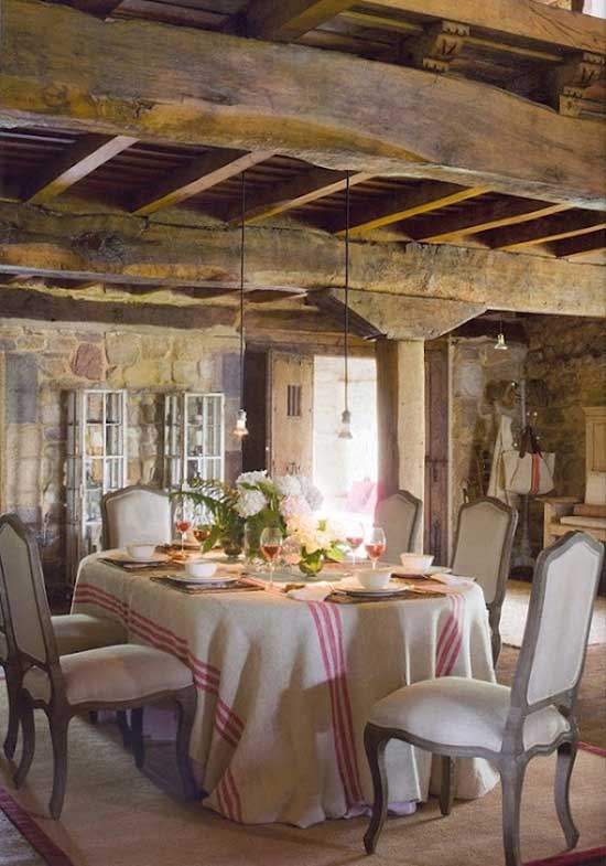 Romantic Dining Rooms A collection to help inspire your