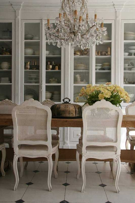 Rustic Amp Romantic Dining Rooms