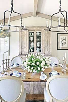 Romantic Rustic Dining Room3