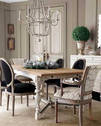 Romantic Rustic Dining Room7
