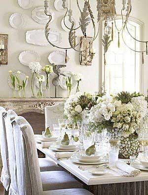 Romantic Rustic Dining Room8