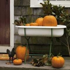 Baby Bathtub - Front Porch Display