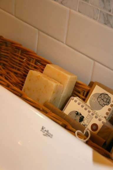 French Basket soap holder