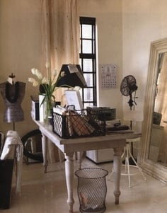 French Inspired Office - Tidbits&Twine ``