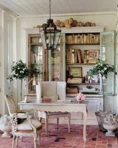 French Inspired Office - Tidbits&Twine `0