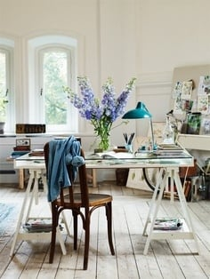 French Inspired Office - Tidbits&Twine 12