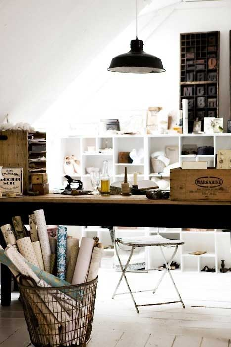 French Inspired Office - Tidbits&Twine 16