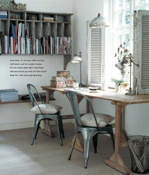 French Inspired Office - Tidbits&Twine 18