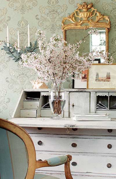 French Inspired Office - Tidbits&Twine 3