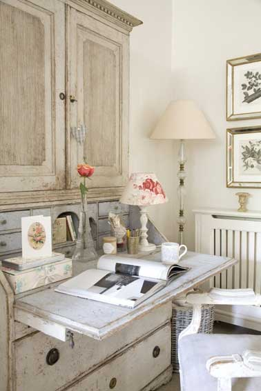 French Inspired Office - Tidbits&Twine 4