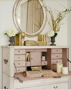 French Inspired Office - Tidbits&Twine 5