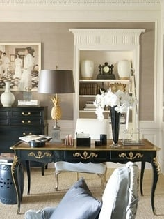 French Inspired Office - Tidbits&Twine 6