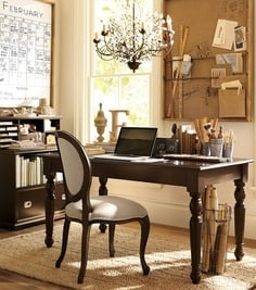 French Inspired Office - Tidbits&Twine 8