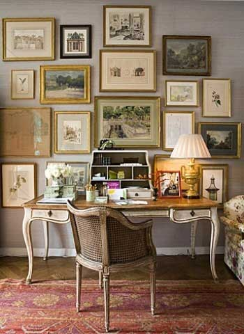 French Inspired Office - Tidbits&Twine
