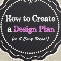 How to Create a Design Plan - Tidbits&Twine