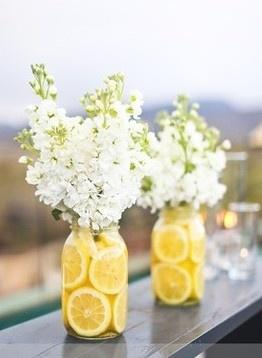 Mason Jar Clear Vase 2