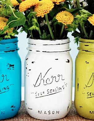 22 Creative Decorative Uses For Mason Jars
