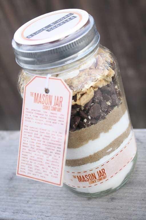 Mason Jar Food Gift 2